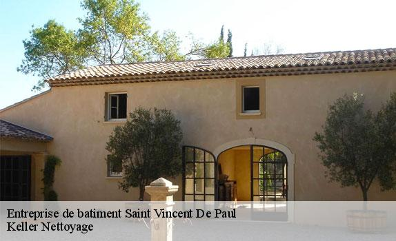 Entreprise de batiment  saint-vincent-de-paul-33440