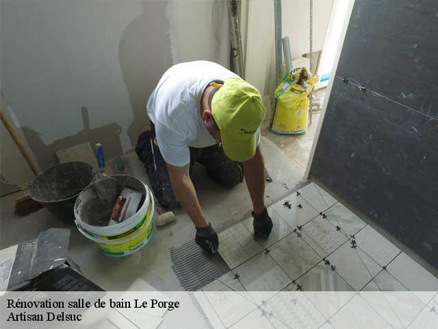 Renovation De Salle De Bain A Le Porge Tel 05 19 65 08 59